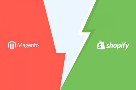 Magento y Shopify